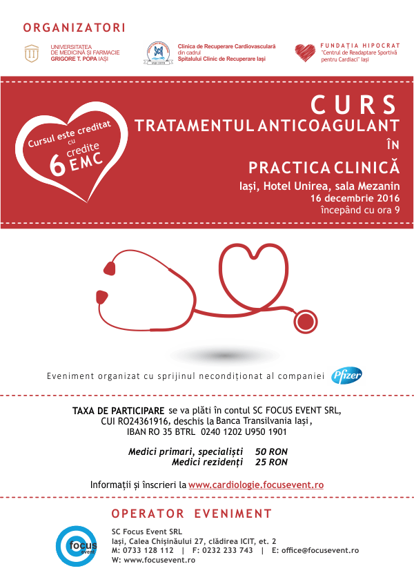 Tratamentul anticoagulant in practica clinica