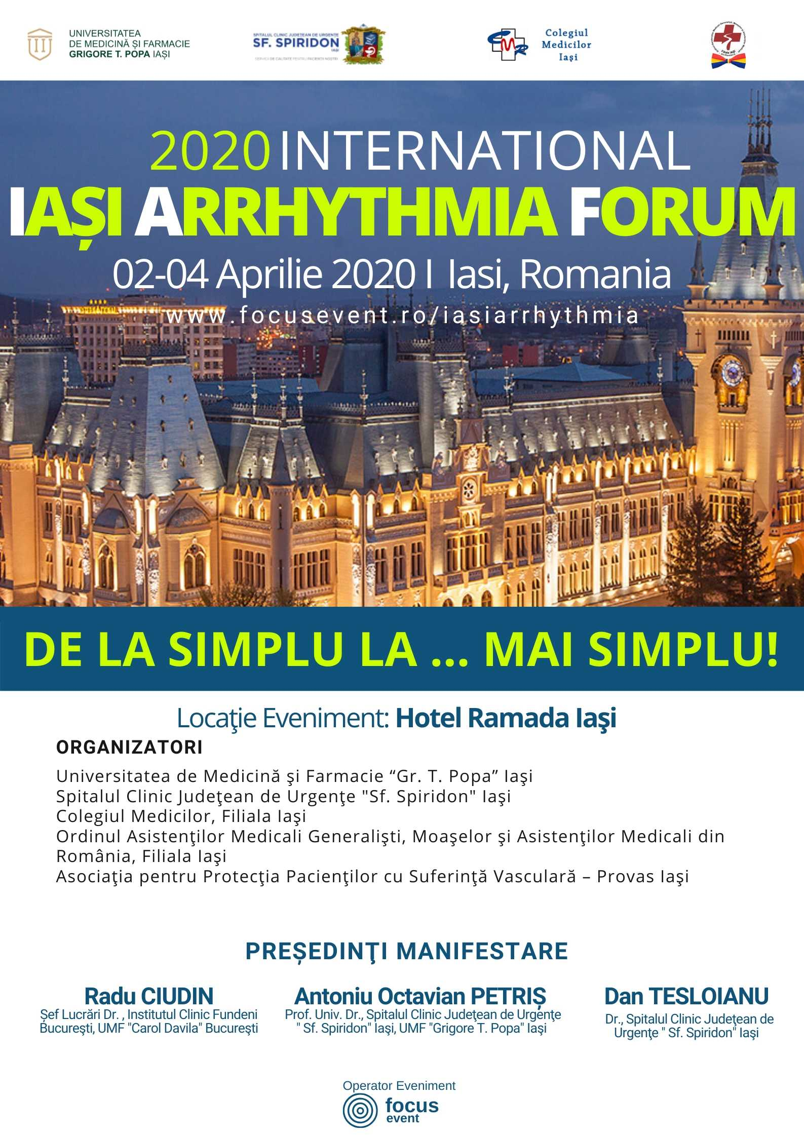 International AFIS IASI ARRHYTHMIA FORUM 2020 (1)
