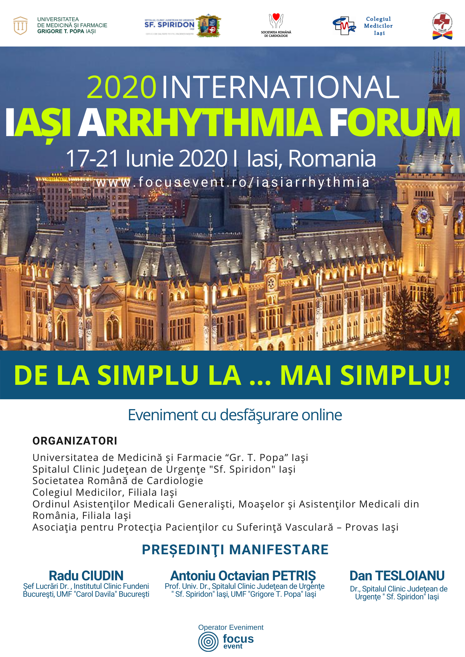 A2 International AFIS IASI ARRHYTHMIA FORUM 2020